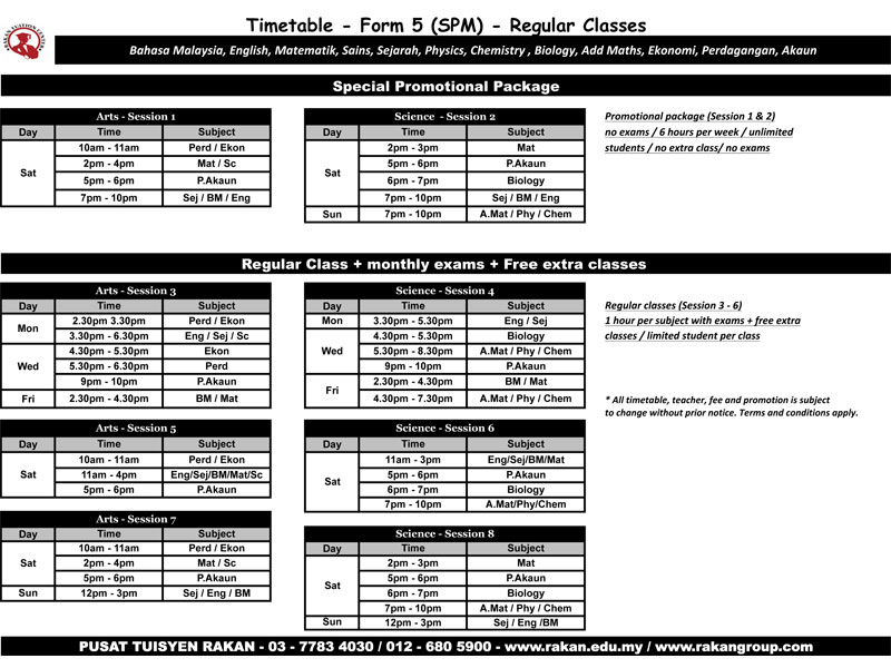 form-5-timetable-2014